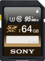 SONY Professional - Carte mémoire SD - 64 GB