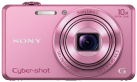 SONY Cyber-shot DSC-WX220 - Fotocamera digitale - 18.2 MP - rosa