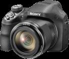 SONY Cyber-shot DSC-H400 - Digitalkamera - 20,1 Megapixel HAD CCD™-Sensor - Schwarz
