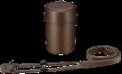 SONY LCS-QXA - Borsa per lenti - Per QX1 - Marrone