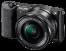 SONY α5100, 16-50mm, 24.3 MP, Nero