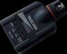 TASCAM DR-10X - Audiorecorder - Zum Aufstecken auf ein Mikrofon - Schwarz