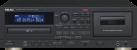 TEAC AD-850 - CD-Player - Mit Kassettendeck - Schwarz