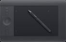 wacom Intuos Pro Small - Grafiktablet - Drucksensitiv - Schwarz - Deutsch/Italienisch