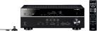 Yamaha RX-V481D - Amplificateur AV 5.1 - DAB/DAB+ - noir