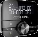 ALPINE EZi-DAB-GO - Digital Radio - Bluetooth - DAB+ - Schwarz