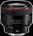 Canon EF 85 mm, f/1.2 L II USM