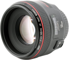 Canon EF 50 mm, f/1.2 L USM