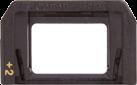 Canon E +2  - Korrektur linse - Schwarz