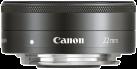 Canon EF-M - 22 mm - f/2.0 STM