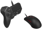 HORI Tactical Assault Commander GRIP - Maus + Tastatur -  Kompatibel mit PS4, PS3 und PC - Schwarz