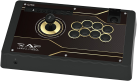 HORI Real Arcade PRO.N Fighting Stick Hayabusa - Stick arcade - Pour PS4/PS3/PC - Or/Noir