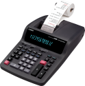 CASIO FR-620TEC - Calcolatrice scrivente da tavolo - 12 cifre - Nero