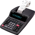 CASIO DR-420TEC - Calcolatrice scrivente da tavolo - 12 cifre - Nero