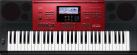 CASIO CTK-6250 - Instrument de musique - 61 Touches façon piano - Noir/Rouge