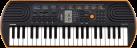 CASIO SA-76 - Tastatur - 44 Minitasten - Schwarz/Orange