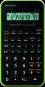 SHARP EL-501X-GR, nero / verde