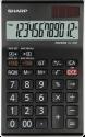 SHARP EL-128CWH - Tischrechner - LCD - Schwarz
