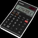 SHARP EL-128SWH - Tischrechner - LCD - Schwarz