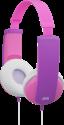 JVC HA-KD5-P - Cuffie per bambini - Con limitatore del volume - Rosa