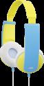 JVC HA-KD5-Y - casque pour enfants - avec limiteur de niveau sonore - jaune