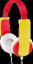 JVC HA-KD5-R - casque pour enfants - avec limiteur de niveau sonore - rouge