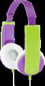 JVC HA-KD5-V - casque pour enfants - avec limiteur de niveau sonore - violet