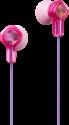 JVC HA-KD1-P - ecouteurs pour enfants - Conforme à la directive 2009/48/CE relative à la sécurité des jouets - rose