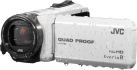JVC GZ-R415W - Outdoor Camcorder - Full HD - Weiss