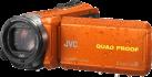 JVC GZ-R435D - Outdoor Camcorder - Interner Flashspeicher 4GB - Orange