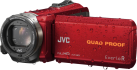 JVC GZ-R435R - Outdoor Camcorder - Interner Flashspeicher 4GB - Rot