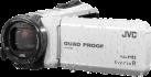 JVC GZ-R435W - Outdoor Camcorder - Interner Flashspeicher 4GB - Weiss