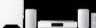 Pioneer FAYOLA Wireless Music System FS-W50-W - Sistema home theater 2.1 - Wireless - Bianco
