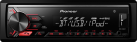 Pioneer MVH-390BT - Autoradio - Bluetooth - nero