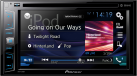 Pioneer AVH-X390BT - Multimedia-Player - 6.2 - Schwarz