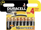 DURACELL Plus Power AA, 12 + 4 Gratis