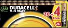 DURACELL Plus Power MN2400 AAA 20 + 4