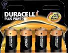 DURACELL Plus Power MN1300 D 4er