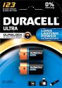 DURACELL Ultra M3 123. 2er Pack