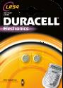 DURACELL Electronics LR54 2er