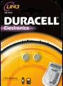 DURACELL Electronics LR43 2er