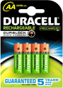 DURACELL StayCharged AA, 4er Pack