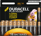 Batterie Duracell Plus Power AA - 18 pezzi