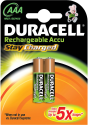 DURACELL StayCharged DX2400, 2er Pack