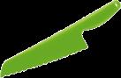 zyliss Salatmesser - Messer mit gezackter Klinge - grün