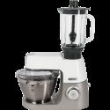 KENWOOD KVC5010T Chef Sense + KAH358 - Robot - 1100 watts - Gris/Blanc
