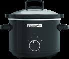 Crock-Pot CSC046X - Pentola a cottura lenta tradizionale - 2.4 l - Nero