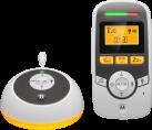 MOTOROLA MBP161 - Digitales Audio Babyfon - Baby-Pflege-Timer - Weiss