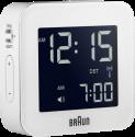 Braun BNC008 - Funkreisewecker - Mit Snooze-Funktion - Weiss