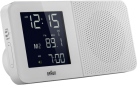 Braun BNC010-RC - Funkradiowecker - Mit weltweitem Empfang - Weiss